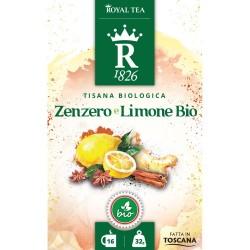 Tisana zenzero e limone bio