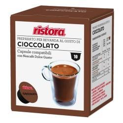 10 capsule cioccolato...