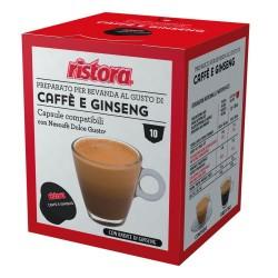 10 capsule caffè e ginseng...