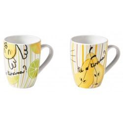 Set 2 tazze mug Allegra...